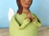 Angel en cerámica