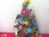Arbol de Navidad con detalles de Ñanduti